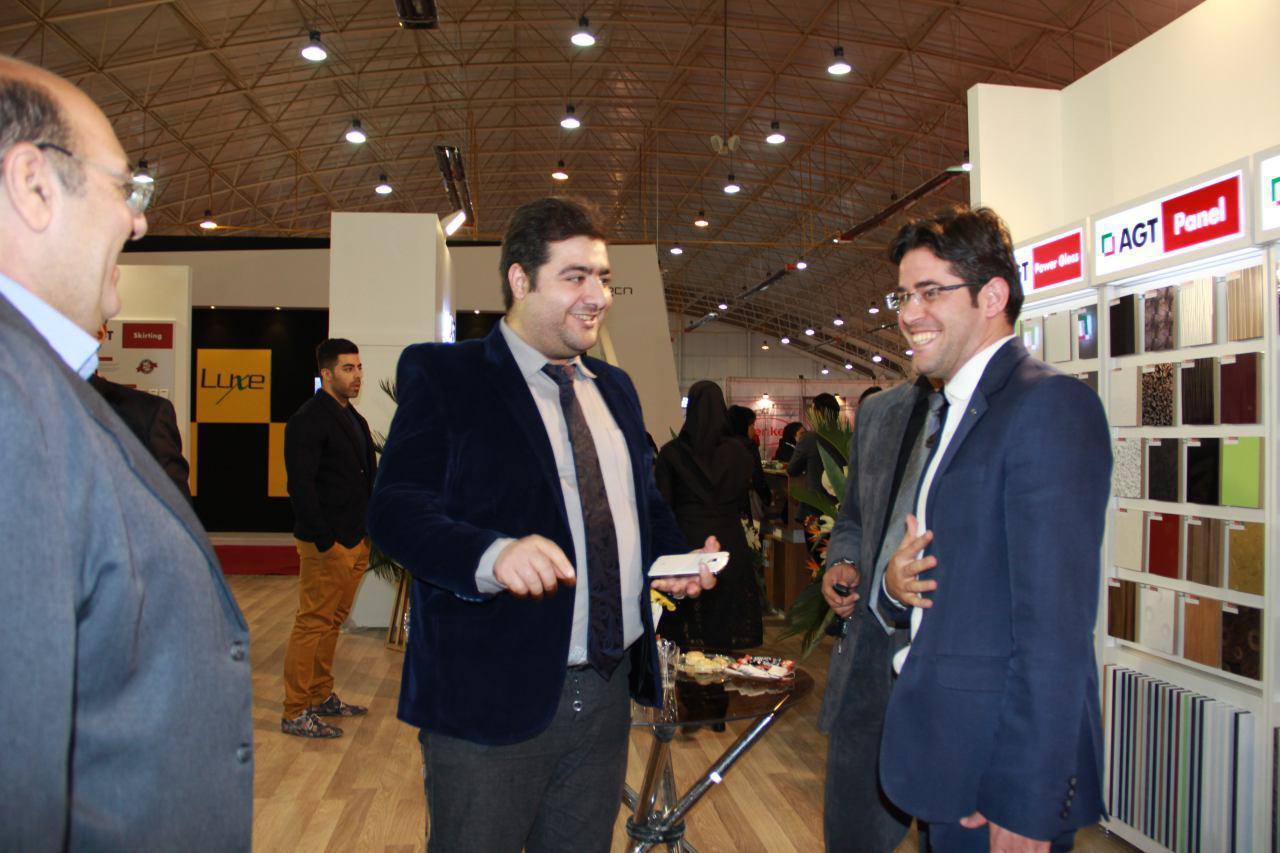 حضور کالای چوب سلطانی و ثمین صنعت در نمایشگاه بین المللی صنایع چوب شیراز 95